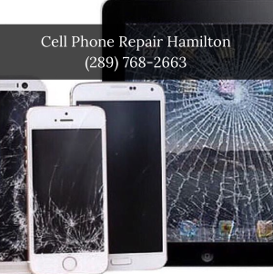 Cracked iPhone Screen Replacement Hamilton
